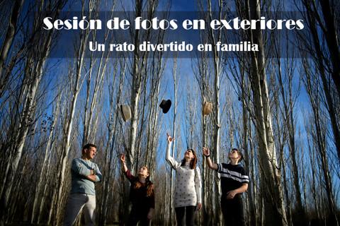 SESIÓN FOTOS EXTERIORES EN FAMILIA
